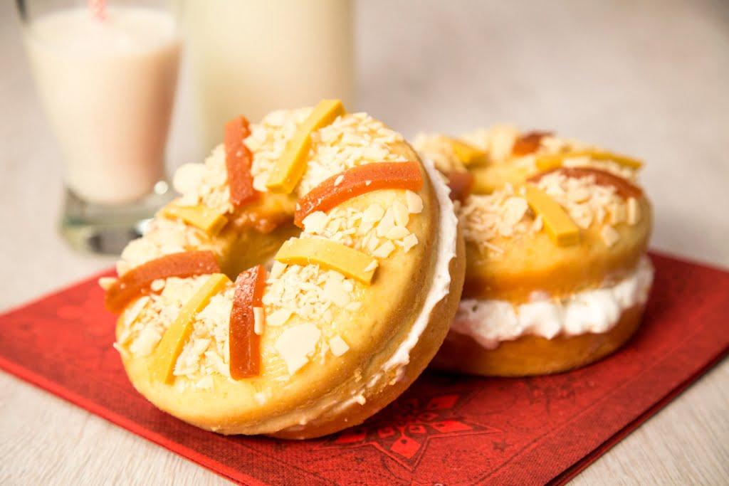Haz tu propia mini rosca de Reyes
