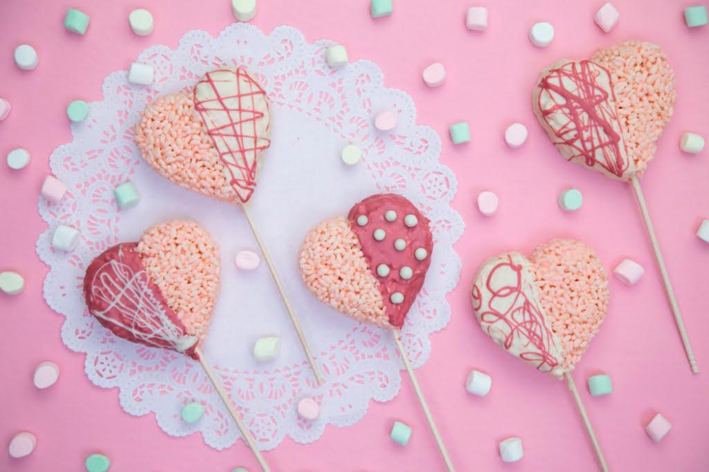 Paletas para el día de San Valentín