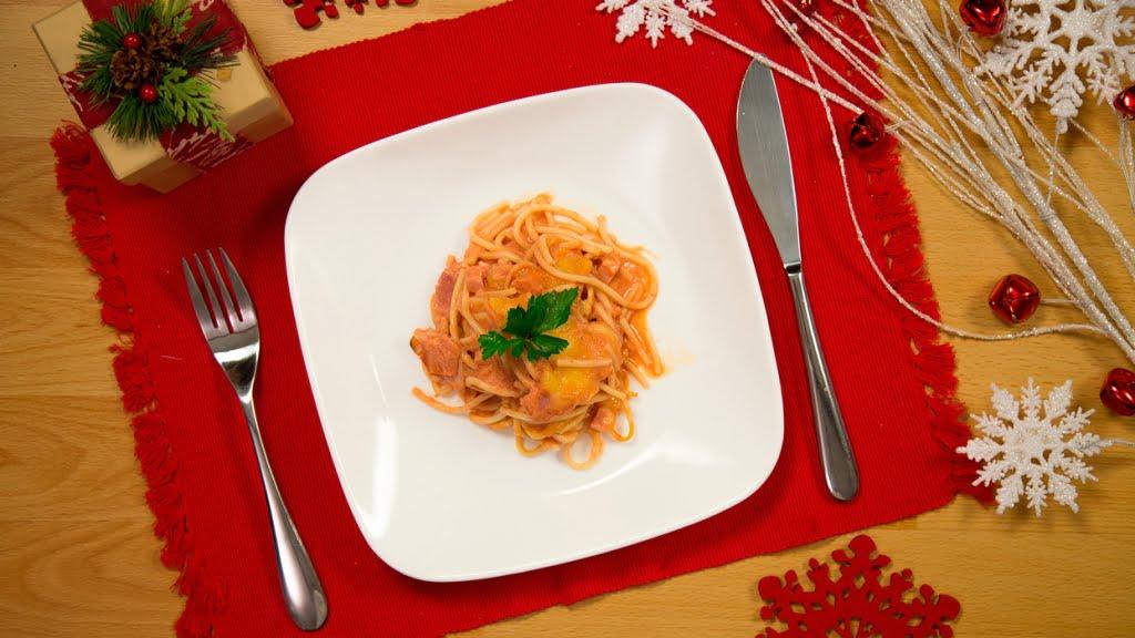 Espagueti Navideño